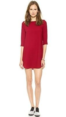 BB Dakota Women's Jazlyn Long Sleeve Shift Dress