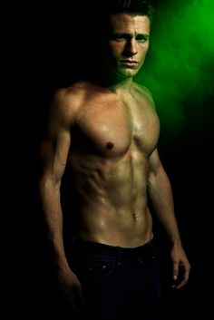 Arrow ~ Colton Haynes. Canadian model/actor. Plays Roy. My inner cougar is purring.