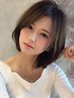 20 chinesische Bob Frisuren 20 Chinese Bob Hairstyles In Europe, long hair has always been a symbol Chinese Bob Hairstyles, Cute Asian Girls, Beautiful Asian Women, Pretty Face, Beauty Women, Beauty Girls, Asian Beauty, Short Hair Styles, Hair Cuts