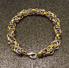Chain Maille Bracelet Chain Maille Jewelry by MeleeTavern on Etsy