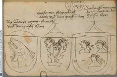 Ortenburger Wappenbuch Bayern, 1466 - 1473 Cod.icon. 308 u  Folio 236r