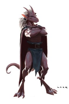 disney cartoon 90's concept art brooklyn pitch Gargoyles