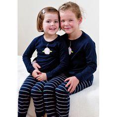 Owl Girl Winter Kids Pyjamas