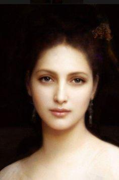 William Adolphe Bouguereau, Portrait of a Aphrodite (Αφροδίτη) William Adolphe Bouguereau, Aphrodite, Digital Portrait, Portrait Art, Digital Art, Renaissance Paintings, Art Pictures, Photos, Portraits
