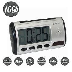 Reloj Despertador Espia 16GB, http://www.camaras-espias.com/113-reloj-despertador-espia-16gb.html