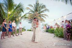 First dance - destination wedding at Las Terrazas #belize [Photo by @Jonathan Ivy Photography]  #destinationweddings