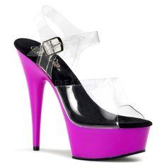 Pleaser Shoes item # Delight-608UV. $56.99
