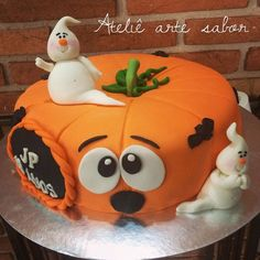 Halloween cake Pinterest ;) | https://pinterest.com/cocinadosiempre/