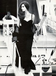 "80s-90s-supermodels: "" ""Omaggio a 007"", Vogue Italia, September 1990 Photographer: Ellen von Unwerth Model: Christy Turlington """