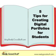 Creating a digital portfolio is a great alternative to keeping stacks and files of papers for your students all year long. Not only does the digital portf