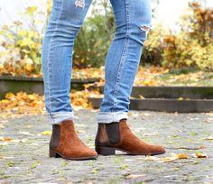 Perfekte Stiefeletten für Job und Freizeit. 😎 (Art. EVA1801 CHF 289)  Auch erhältlich in den Farben: Rost, schwarz und dunkelblau. Ankle, Boots, Fashion, Fall 2016, Dark Blue, Colors, Black, Crotch Boots, Moda