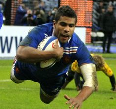 The Incredible Flying Wesley Fofana gives France a try.