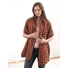 Free Easy Women's Shawl Crochet Pattern
