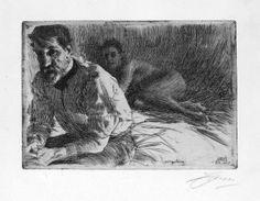 Zorn, August+Saint+Gaudens+II_1897.