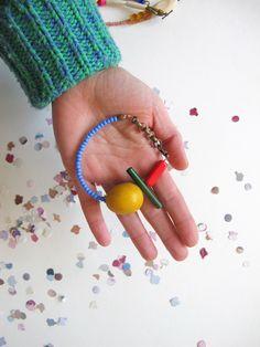 funky bead bracelet