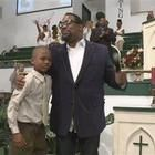 A 9-year-old boy snatched from his front yard in Atlanta said he relied on his faith and sang the same gospel song for three hours until his kidnapper finally set him free