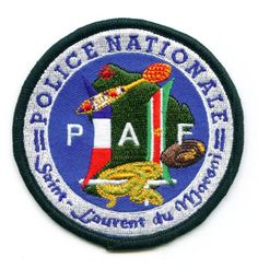 Ecusson Police Nationale