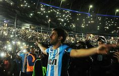 Despedida de Diego Alberto Milito...  RACING CLUB DE AVELLANEDA Thessaloniki, Club, Soccer, Racing, Grande, The World, Amor, Football Images, Football Pics
