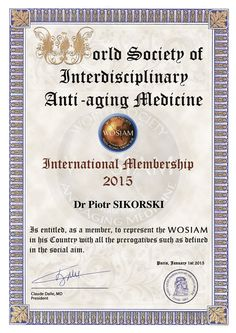 Cityklinikka on WOSIAM-sertifioitu klinikka.