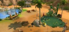 Adds more parks to the sims 4.