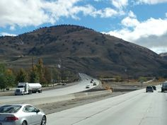 Headed up into the grapevine