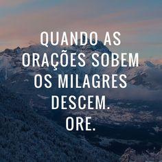 Comece a orar e glorificar irmão. Spanish Phrases, Jesus Christ, Christianity, Lettering, God, Quotes, Salvador, Inspiration, Instagram