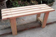 banco de madeira reciclada, pallet, pinus para jardim