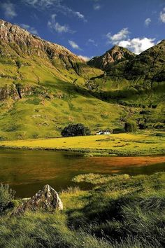 typically breathtaking...Loch Achtriochtan, Scotland
