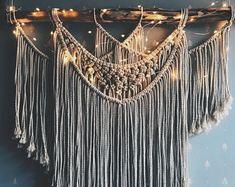 Macrame Wall Hanging, Large Macrame Hanging, Woven Wall Hanging, Boho Wall Decor, Wall Tapestry, Woven Tapestry, Macrame, Macrame Wall Decor