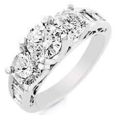 White Gold Ring with Diamonds Click here to shop beautiful diamond rings and jewelries: http://trkur1.com/203492/19175