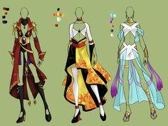 Adoptables Auction - Fashion[OPEN] by windbeforethestorm.deviantart.com on @deviantART
