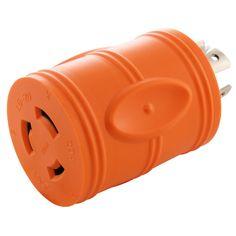 Flexible Welder Adapter NEMA SS2-50P//CS6365 to NEMA 6-50R by AC WORKS™