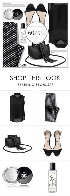 """""""Yoins"""" by lucky-1990 ❤ liked on Polyvore featuring Lands' End and NARS Cosmetics"""