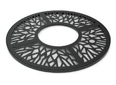 Circualr decorative tree grille...