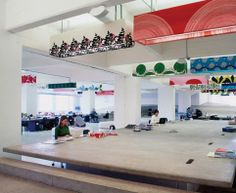 Mother London office by Clive Wilkinson Architects