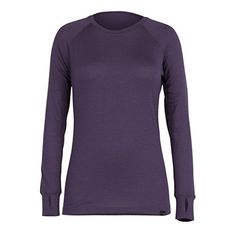 Women's Athletic Base Layers - Ridge Merino Wool Womens Inversion Midweight Crew * Check out this great product.