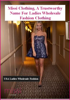 Missi Clothing is a renowned name in the list of top clothing homes and wholesalers. Since its establishment, the company has offered an ample range of designer women clothing.