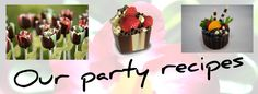 Fun Party chocolates & easy party recipes by Kane Candy!  KaneCandy.com