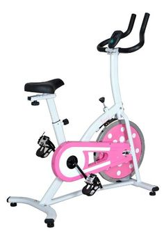 Sunny Health and Fitness Indoor Cycling Bike (Pink)