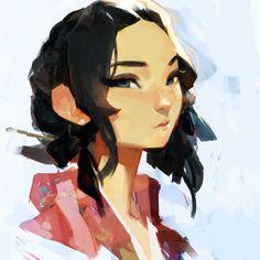 Korean Princess by samuelyounart on DeviantArt