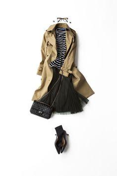 Kyoko Kikuchi's Closet l kk-closet Daily Fashion, Love Fashion, Fashion Looks, Womens Fashion, Spring Summer Fashion, Spring Outfits, Winter Fashion, Mode Outfits, Casual Outfits