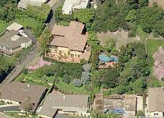 Jessica Alba beautiful mansion in Beverly Hills, California