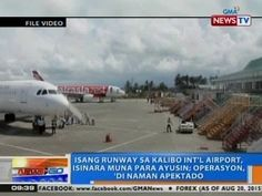 NTG: Isang runway sa Kalibo Int'l Airport isinara muna para ayusin