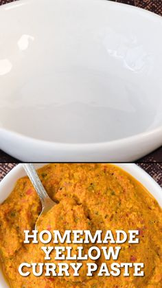 Spicy Recipes, Curry Recipes, Easy Healthy Recipes, Asian Recipes, Mexican Food Recipes, Vegetarian Recipes, Cooking Recipes, Indian Curry Paste Recipe, Yellow Curry Recipe