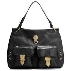 Fashion Mulberry MSB-51 Black Detachable leather Bags Sale : Mulberry Outlet£152.61