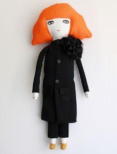 Sonia Rykiel, textile character for Michi