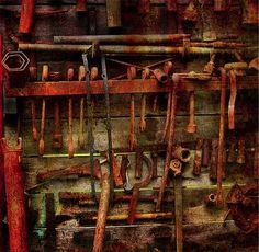 How to Save Money by Reusing Rusty Tools