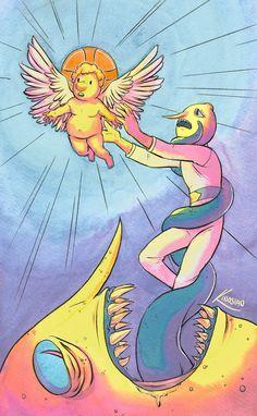 Adventure Time Art Prints and Original Paintings Adventure Time Tattoo, Tatuagem Adventure Time, Adventure Time Finn, Princesse Chewing-gum, Abenteuerzeit Mit Finn Und Jake, Adveture Time, Adventure Time Characters, Jake The Dogs, Bubbline