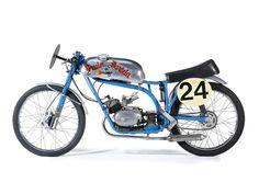 Isle of Man TT1962 Fruin Dartela 50cc Six-Speed Racing Motorcycle
