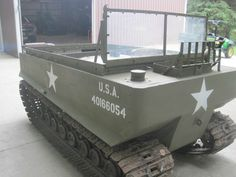 WWII Weasel Studebaker tracked vehicle
